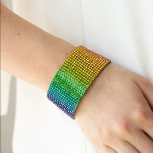 "New! Paparazzi ""Fade Out"" Multi Bracelet"